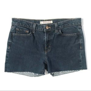 J Brand Cut Off Low Rise Jean Shorts